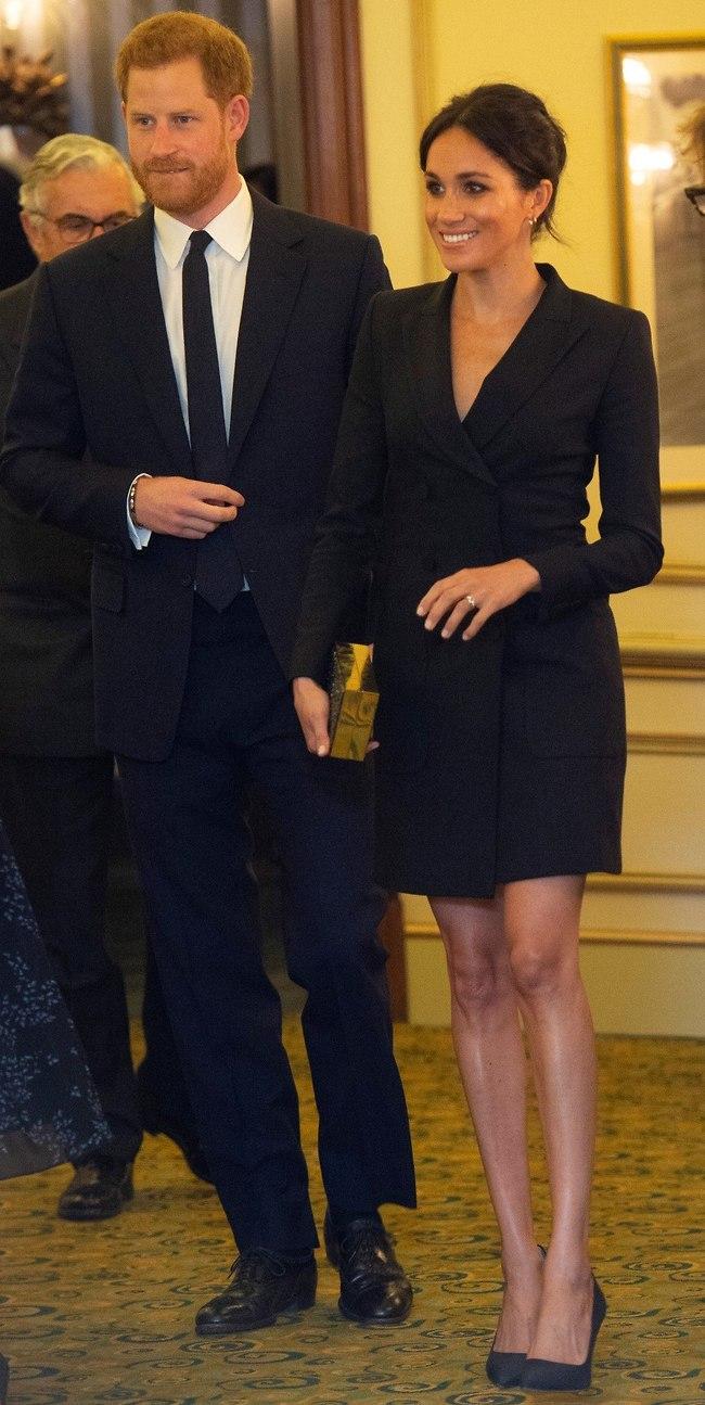 דוכסית במיני? וואו! מרקל והנסיך הארי (צילום: Gettyimages)