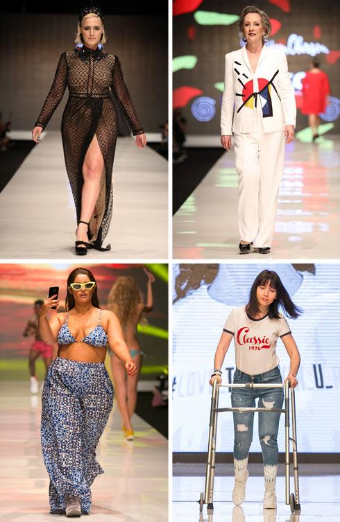 כולן יפות, כולן אמיתיות. שבוע האופנה האחרון בתל אביב (צילום: ענבל מרמרי, אורית פניני)