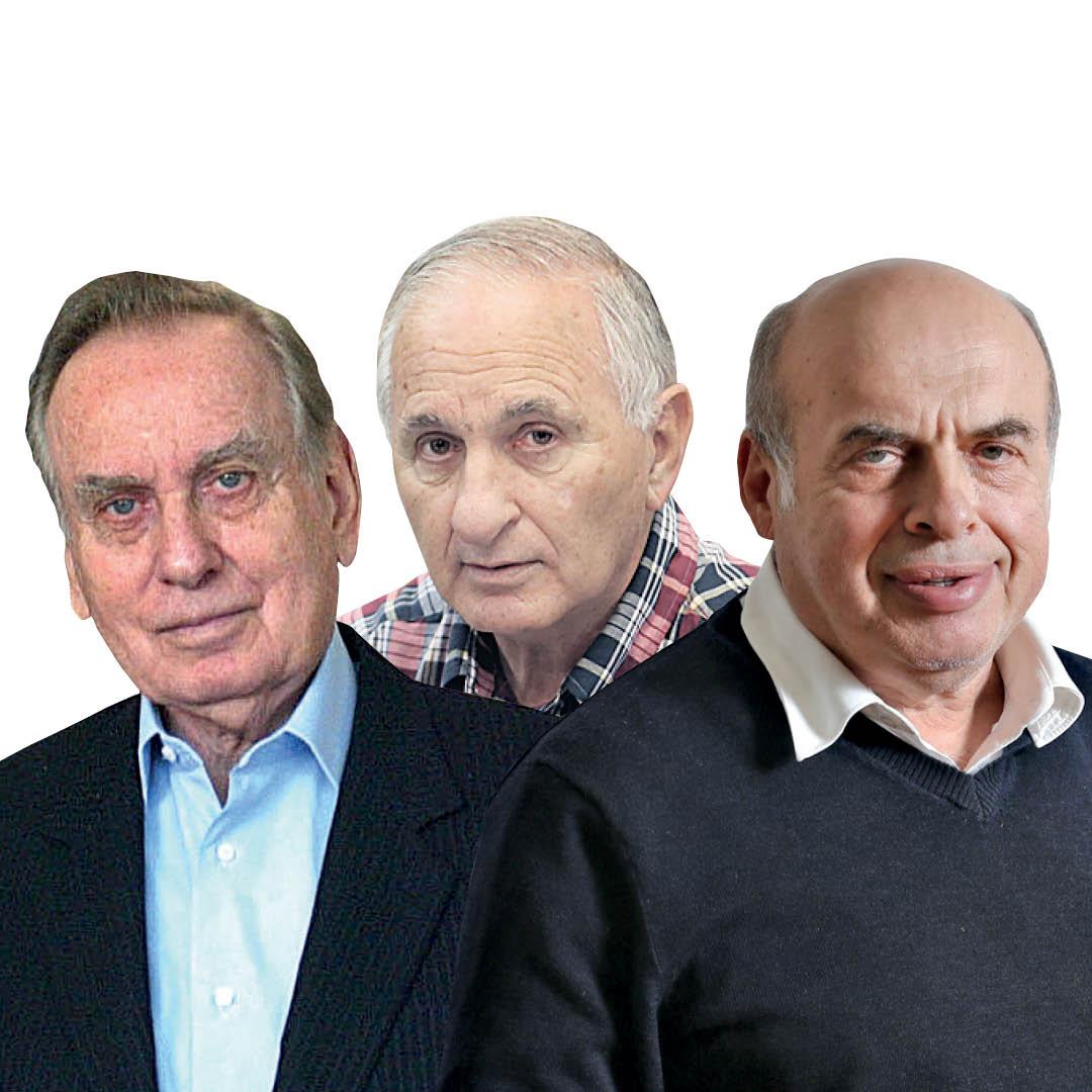 """שרנסקי, רום וזלמן שובל. """"הוא היה המשענת של ישראל בוושינגטון"""", אומר שובל"""