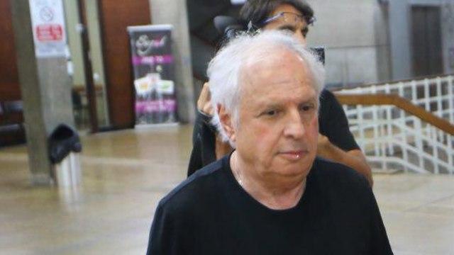 Shaul Elovitch in court in Tel Aviv (Photo: Moti Kimchi)