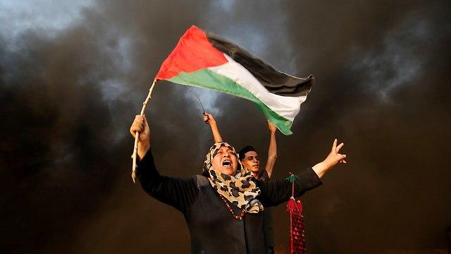 Gaza border riots (Photo: Reuters)