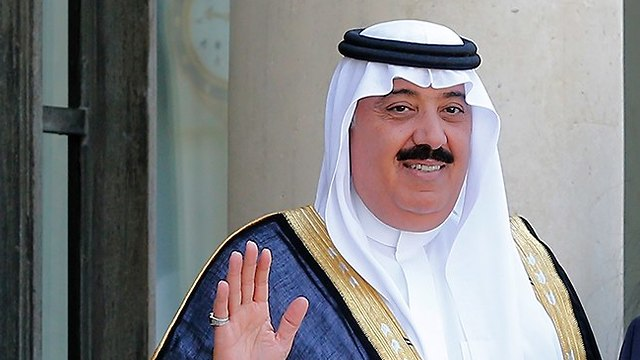 Mutaib II bin Abdullah, a Saudi prince who served as the head of the National Guard (Photo: AP)