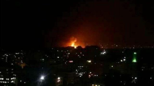 ישראל תקפה שדה תעופה צבאי בדמשק עשרות איראנים הרוגים 87487110991167640360no