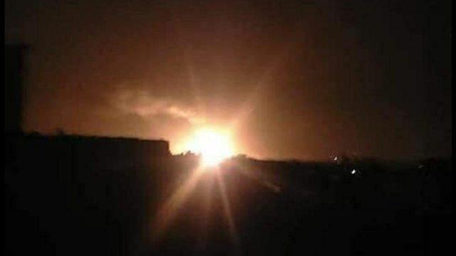 ישראל תקפה שדה תעופה צבאי בדמשק עשרות איראנים הרוגים 874871001001791640360no