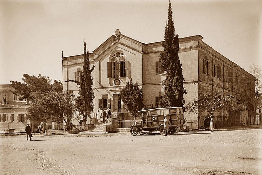 Рууская больница в начале XX века. Фото: Википедия