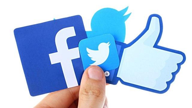 פייסבוק וטוויטר (צילום: shutterstock)