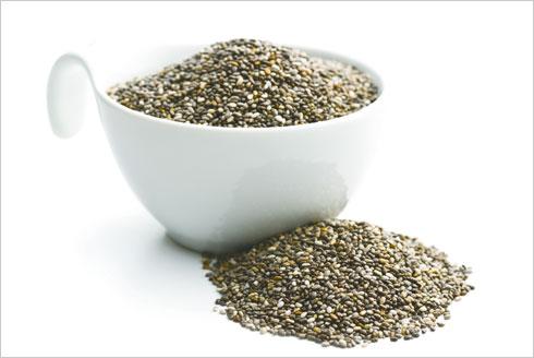 זריקת מרץ למוח. זרעי צ'יה (צילום: Shutterstock)