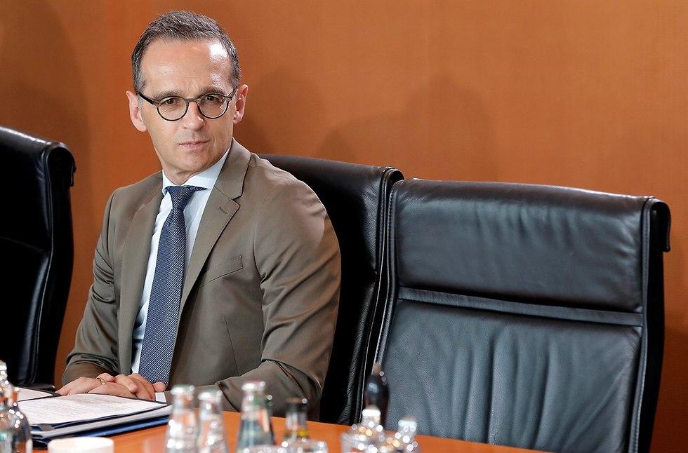 שר החוץ של גרמניה הייקו מאס (צילום: AP)