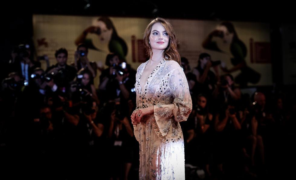 סוגרת את החמישייה הפותחת: אמה סטון (צילום: Vittorio Zunino Celotto/GettyimagesIL)