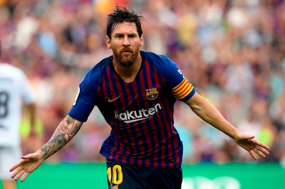 ליונל מסי ברצלונה (צילום: AFP)