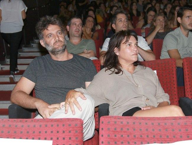 """נעים להכיר מקרוב. דנה מודן והחבר ד""""ר הראל ארזי (צילום: ענת מוסברג)"""