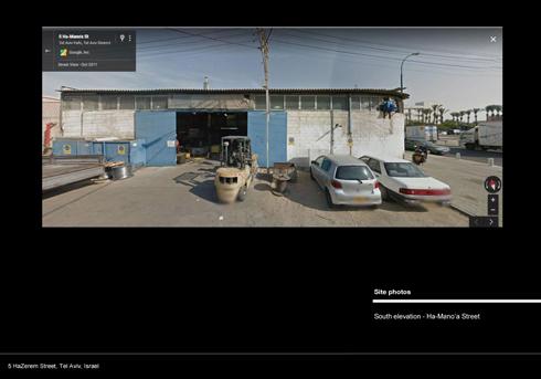 סביבה של מוסכים, בתי מלאכה ותעשייה קלה (באדיבות גלריה גורדון)