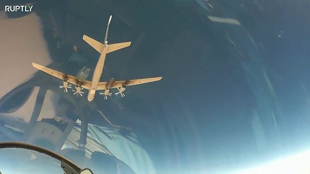 Russian aircraft over Mediterranean Sea (Photo: Ruptly)