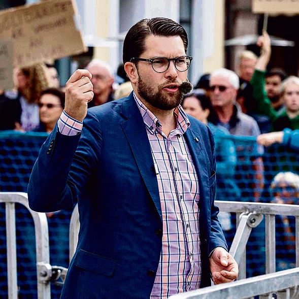 אוקסון, מנהיג המפלגה הקיצונית | צילום: AFP
