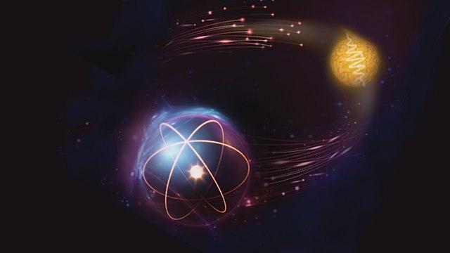 קח ותן: שער לוגי קוונטי בין פוטון לאטום, אילוסטרציה (צילום: מתוך