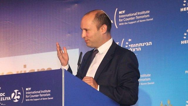 Minister Naftali Bennett (Photo: Motti Kimchi)