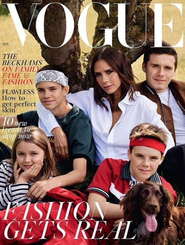 משפחה יפה. הבקהאמים מינוס אבא דיוויד