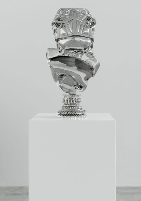 אחד מפסליו של מוריסון. מבריקים כתכשיט (צילום: גדעון לוין)