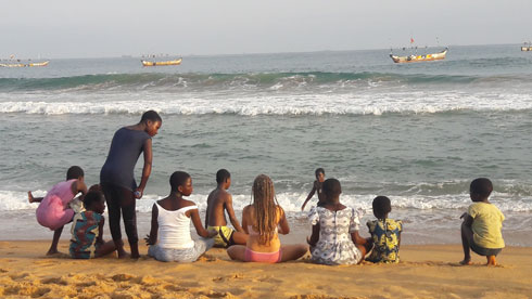 """""""למדנו על אפריקה ובעיקר על עצמנו. אומרים שמי שחי ליד הים מפסיק לשמוע את הגלים"""""""