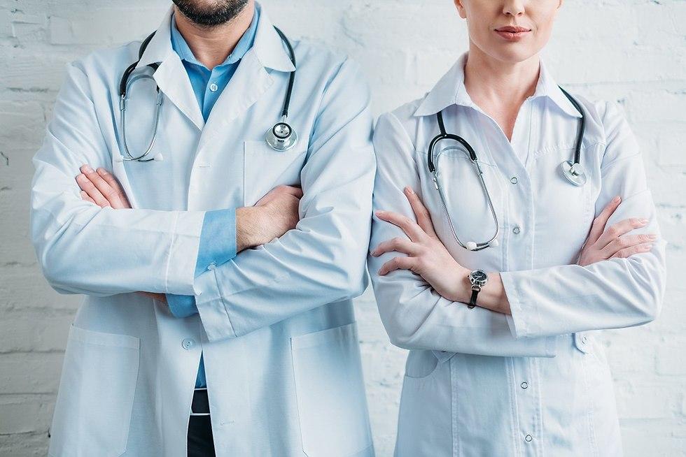 רופאים אילוסטרציה (צילום: shutterstock)
