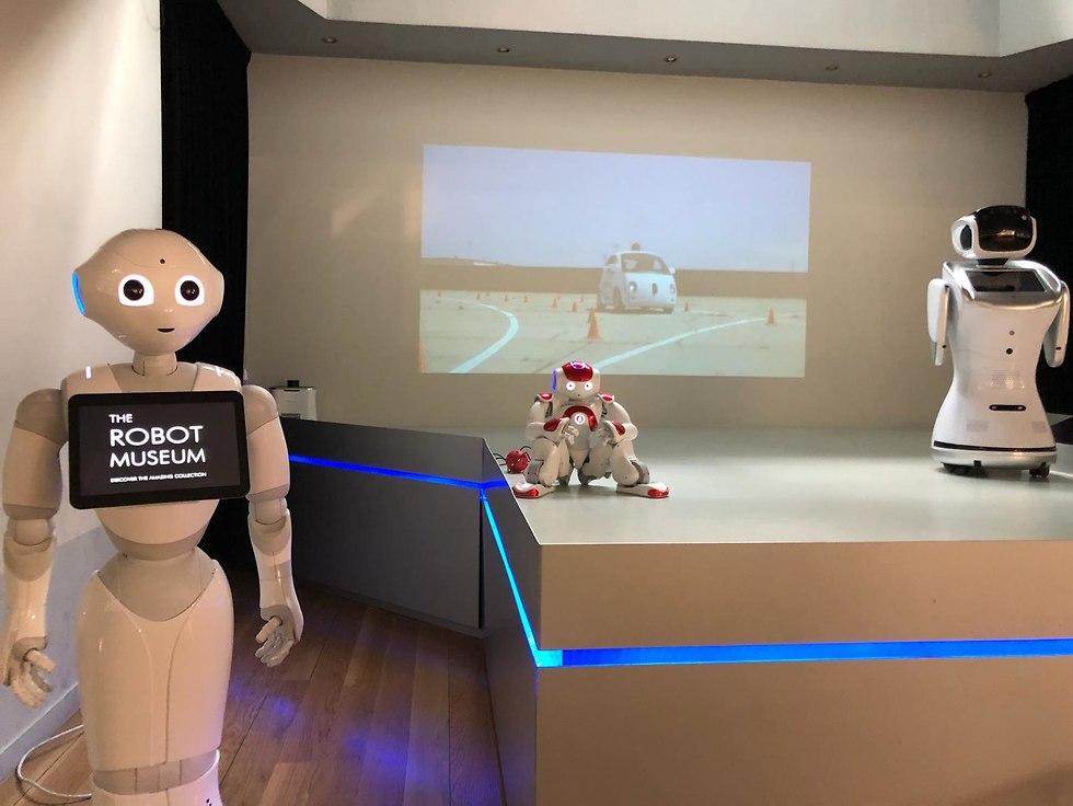 חנות רובוטיקה (צילום: מושיק ביבי)
