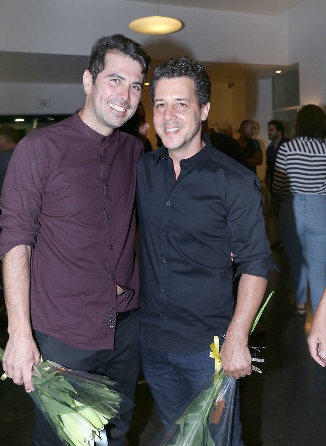 עם הבמאי המהולל איתי רזיאל (צילום: ענת מוסברג)