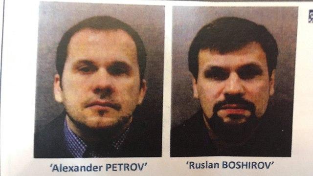 בריטניה אלכסנדר פטרוב רוסלן בושירוב צו מעצר הרעלת סרגיי סקריפל רוסיה ()