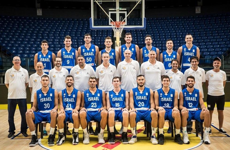 נבחרת ישראל (צילום: עודד קרני, איגוד הכדורסל)