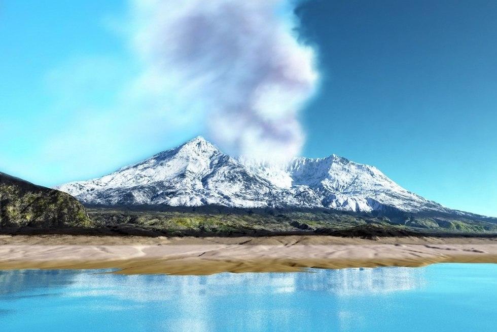 הר סט הלנס במערב ארצות הברית (צילום: shutterstock)