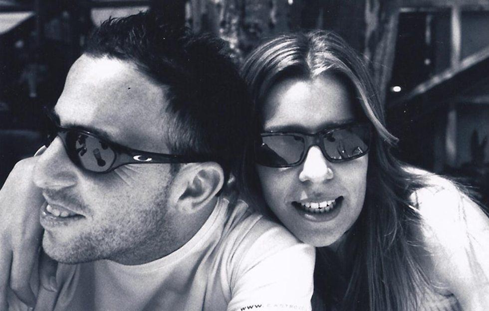 אורן ואשתו ניצן  (באדיבות המשפחה)