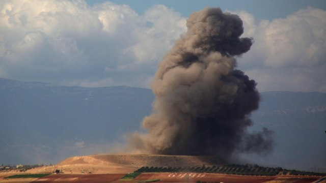Russian airstrike in Syria (Photo: AFP) (Photo: AFP)