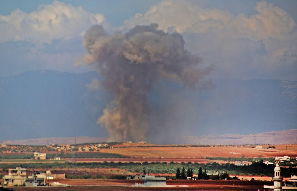 Russian fighter jets bomb Syria (Photo: AFP)