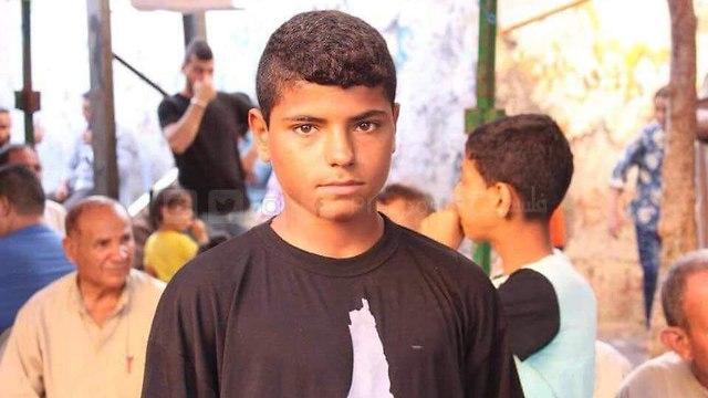 Ahmad Abu Tayoor, 16 ans