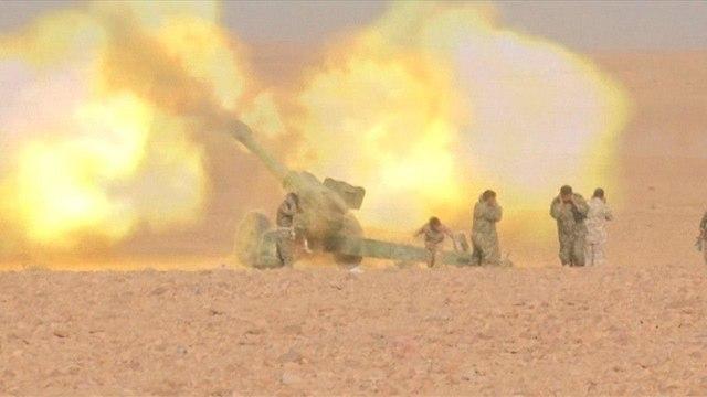 כוחות המורדים בתקיפה באידליב (צילום: רויטרס)
