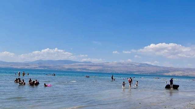 The Sea of Galilee in summer (Photo: Kinneret Authority)