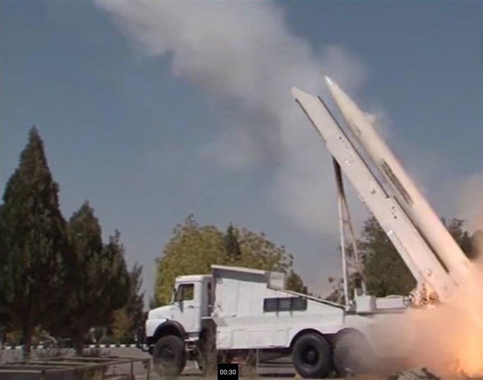 Fateh 110 short-range missiles