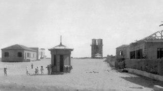 שביל העצמאות בתל אביב (צילום: אברהם סוסקין, מוזיאון ארץ ישראל, אוסף סוסקין)
