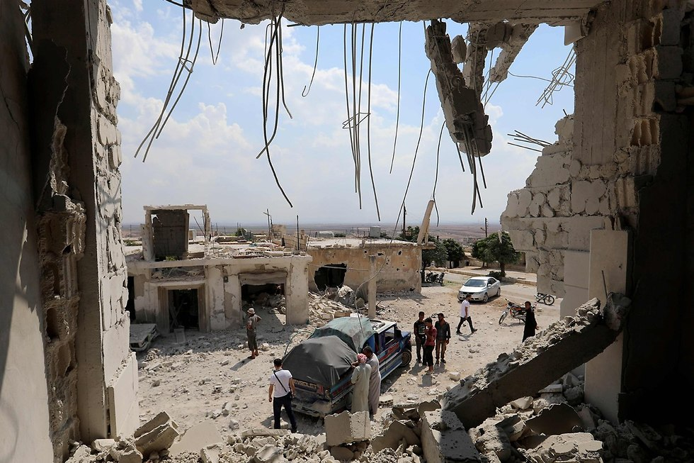 Idlib in ruins (Photo: AFP)
