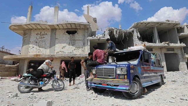 Destruction in Idlib  (Photo: Destruction in Idlib )