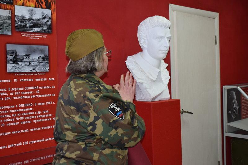 Уголок Левина в школьном музее. Фото: Оксана Бойкова