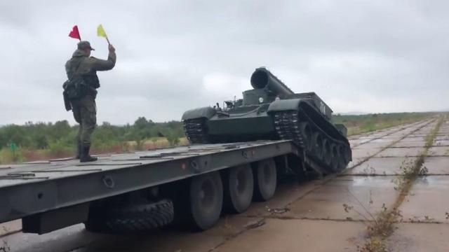 תרגיל צבאי ברוסיה  ()