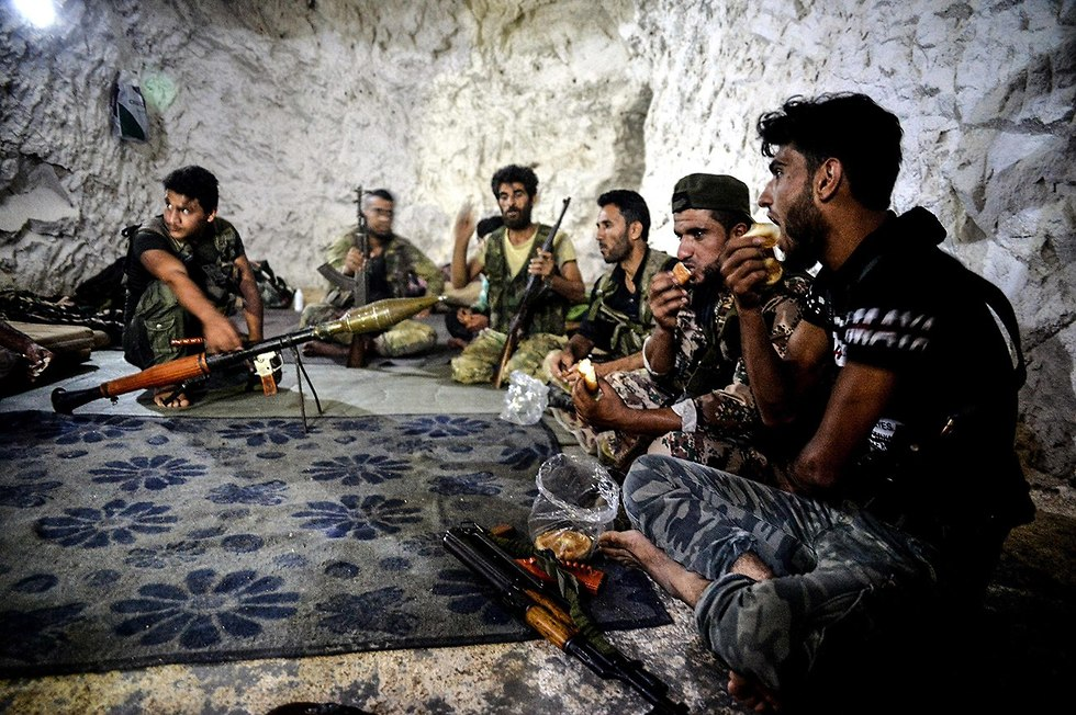 Rebel groups in Syria's Idlib  (Photo: MCT)