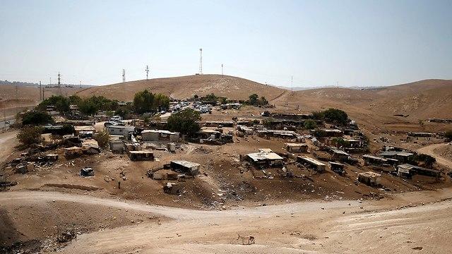 Bedouin village of Khan al-Ahmar  (Photo: Reuters)