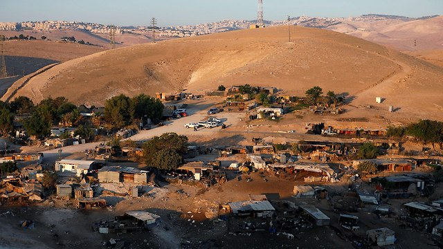 Khan al-Ahmar (Photo: Reuters)