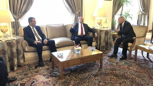 הרשימה המשותפת בפגישה בקהיר ()