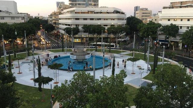 כיכר דיזנגוף המחודשת (צילום: דנה (פנדה) פינקלשטיין)