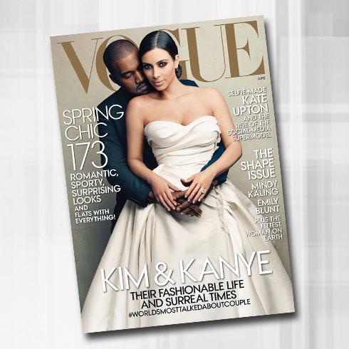 אנה ווינטור השתגעה? שער מגזין ווג הראשון בכיכובה של קים קרדשיאן, חוגג את נישואיה לקניה ווסט לעיני אמריקה והעולם כולו