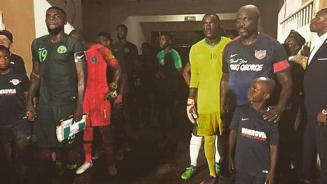 ג'ורג' וואה ניגריה ליבריה (מתוך הטוויטר של ג'ון אוגו)