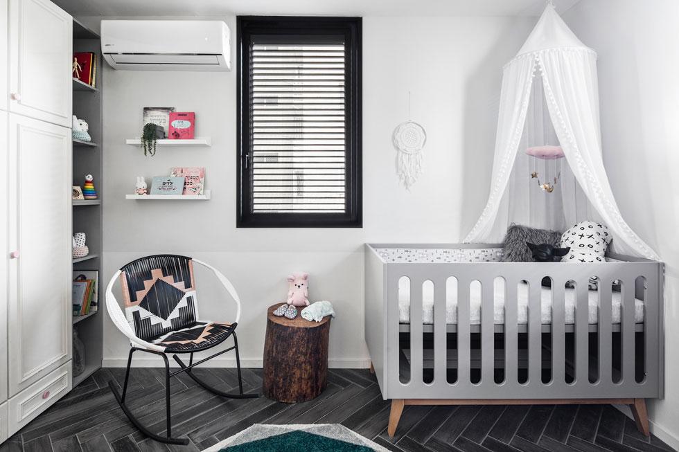 חדר הילדים הושלם לאחרונה (צילום: איתי בנית)