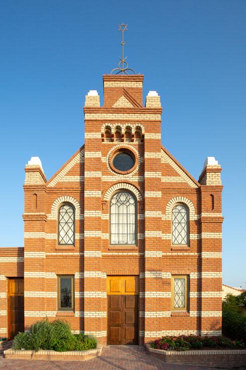 נאמן למקור. בית הכנסת ההולנדי במבוא חורון (צילום: דור נבו)